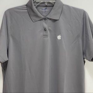 Employee Apple Polo women's gray